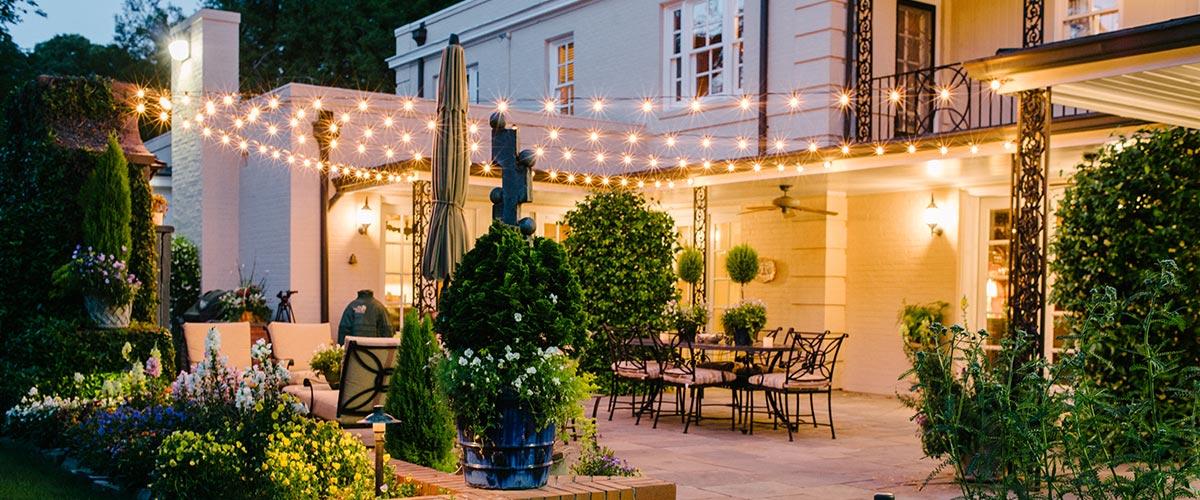 backyard lighting san diego