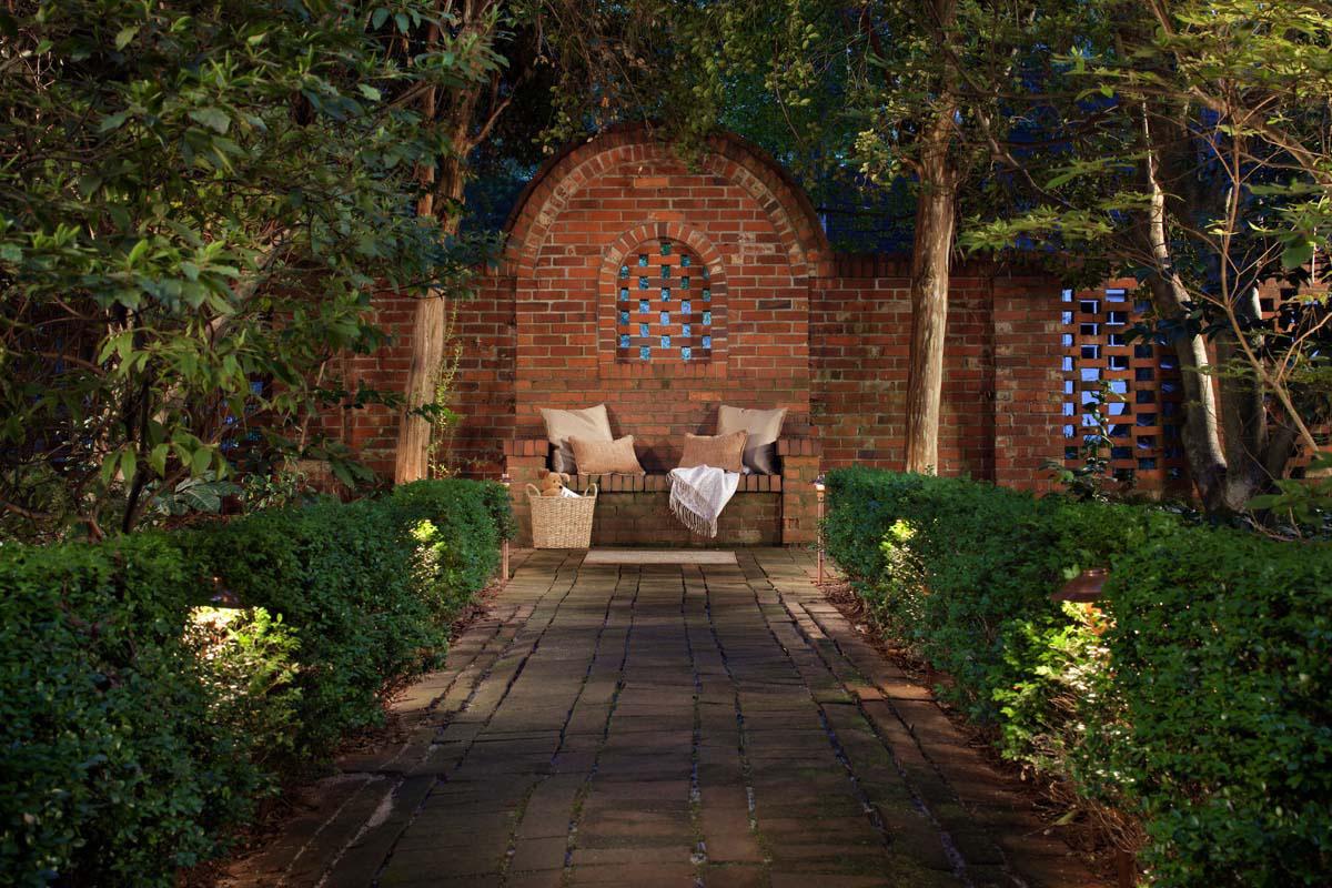 garden lighting in Charleston South Carolina