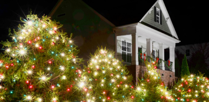 wilmingtons holiday outdoor lighting program is a reverse version of the grinch - Grinch Christmas Lights Outdoor