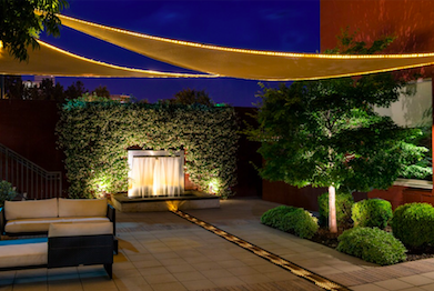 Stunning outdoor lighting enhances hospitality properties outdoor common areas are big draws for hotels and restaurants and in a town like richmond many of those common areas are outside weve illuminated these spaces aloadofball Gallery