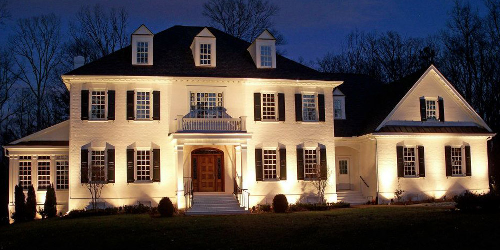 architectural uplighting Raleigh NC