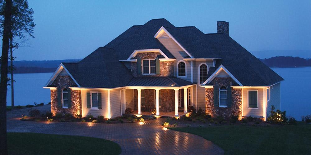 Durham NC outdoor lighting installer