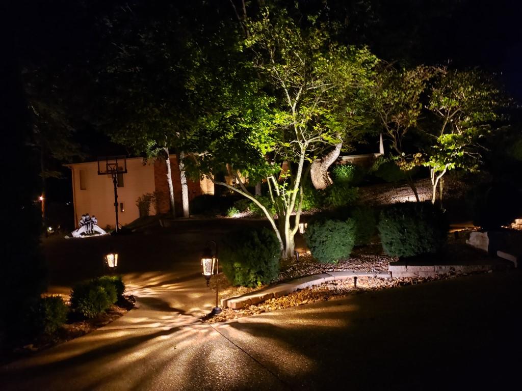 St. Charles County Landscape Lighting