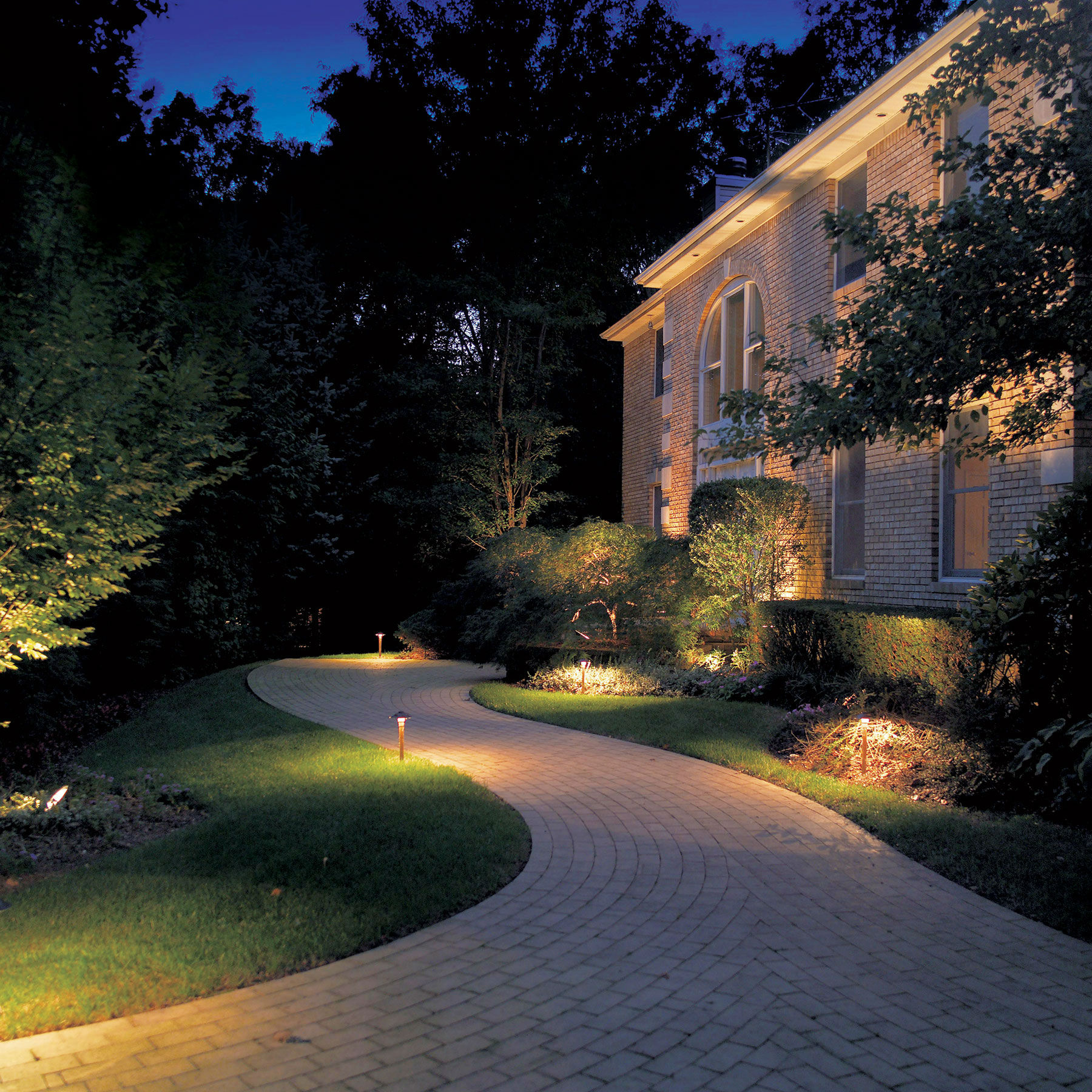 Minneapolis landscape lighting path lighting mozeypictures Image collections