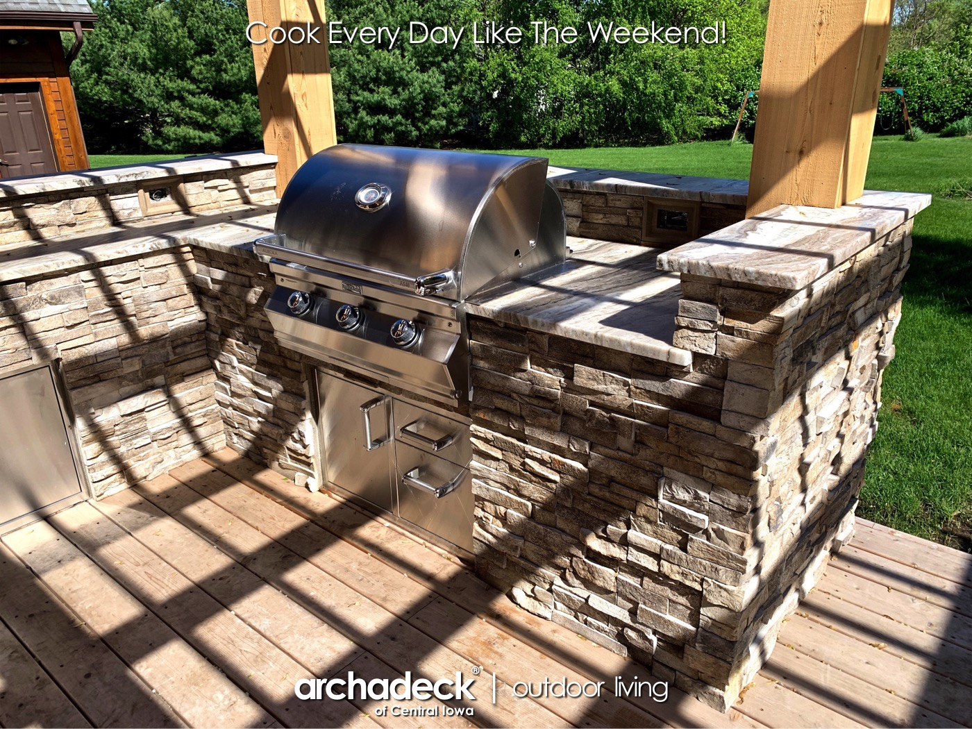 Central Iowa Outdoor Kitchens by Archadeck Thumbnail