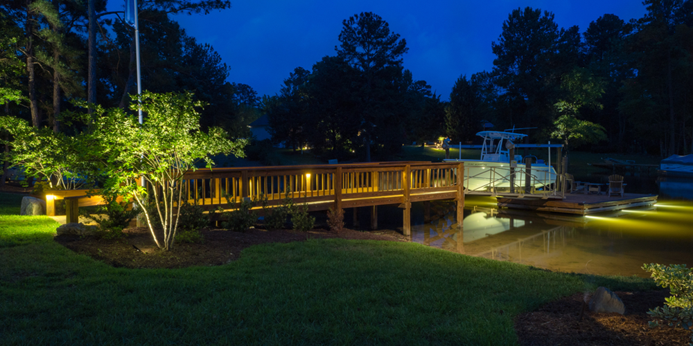 Chapin SC outdoor lighting