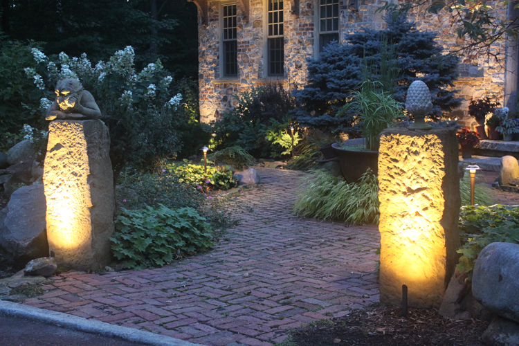 Stacked stone natural stone pavers seattle outdoor lighting to stacked stone natural stone pavers seattle outdoor lighting to showcase your custom stone work mozeypictures Image collections