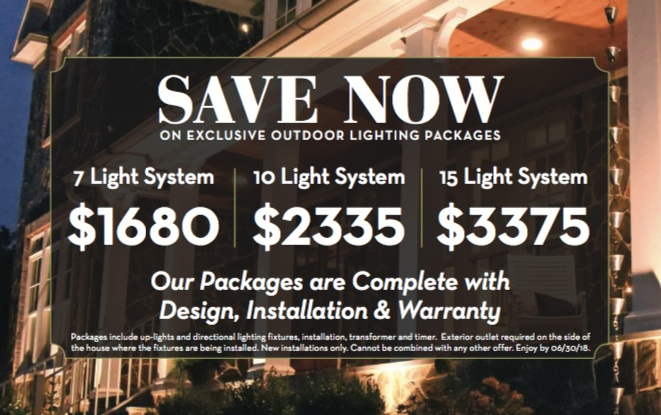 outdoor lighting specials in northern virginia