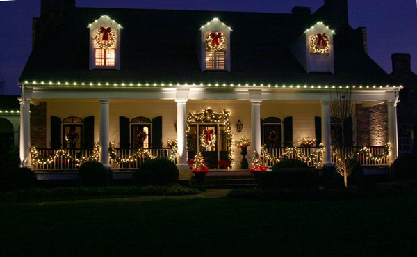residential holiday lighting services