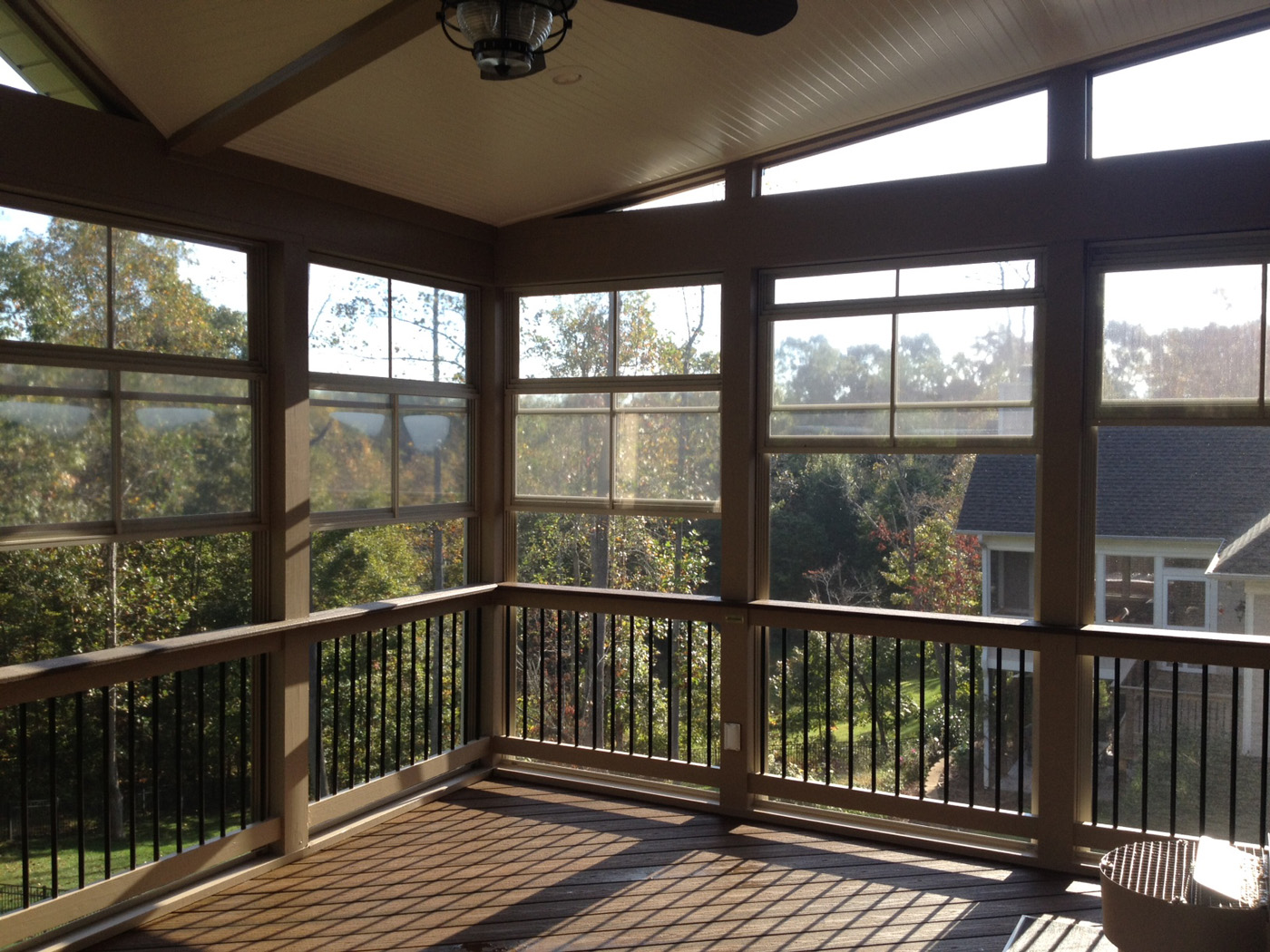 Raleigh porch designer for 2 season porch