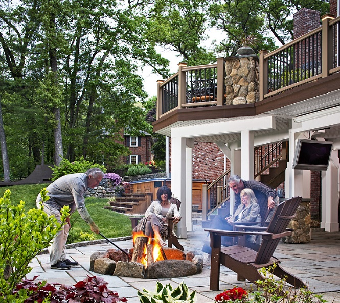Lynnfield, MA, outdoor living combination Thumbnail