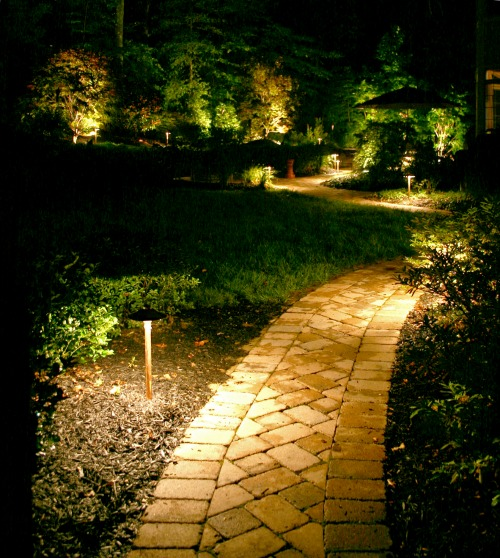 landscape lighting in st louis