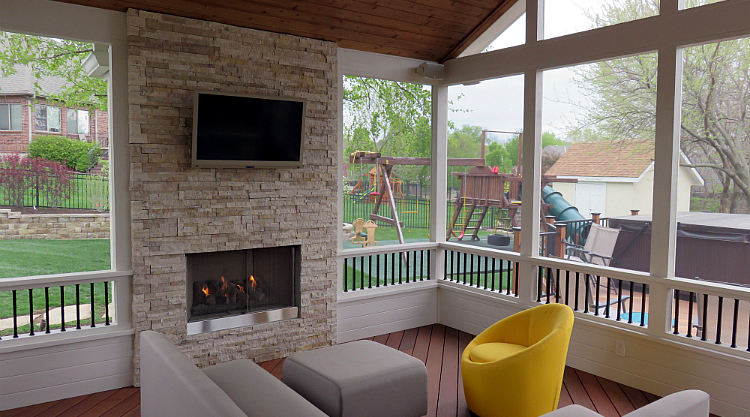 Kansas City Area Decks and Porches - Before & After Thumbnail