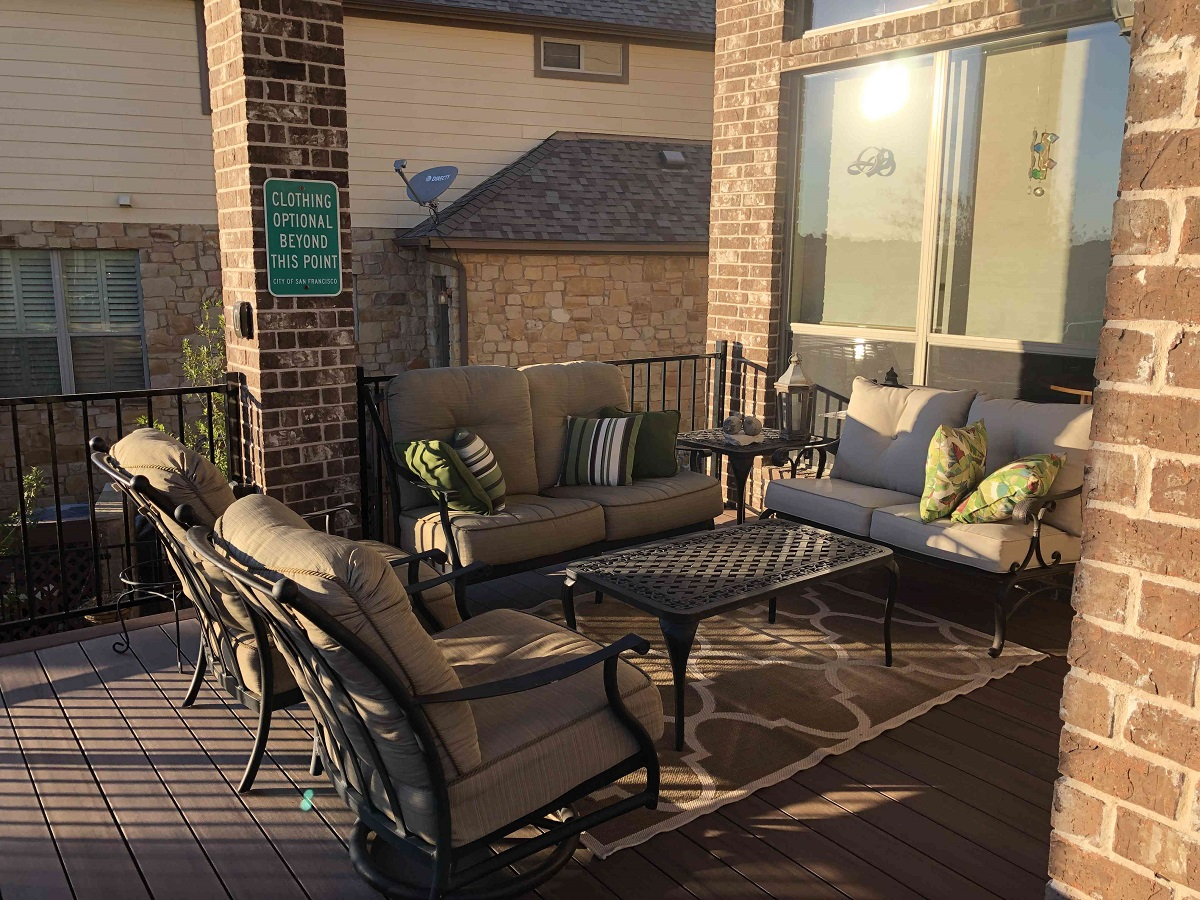Bee Cave Tx Deck Porch Patio Project Showcases Archadeck S Design Skills Archadeck Outdoor Living