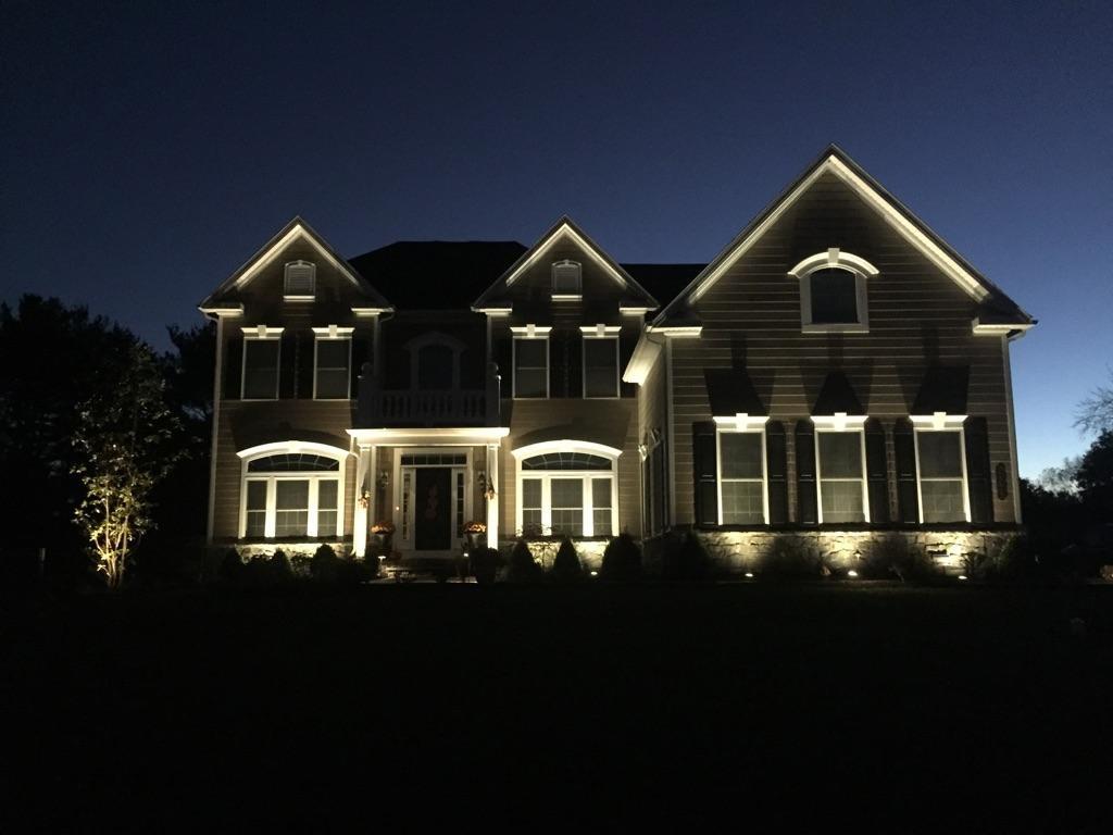 outdoor lighting annual maintenance plan