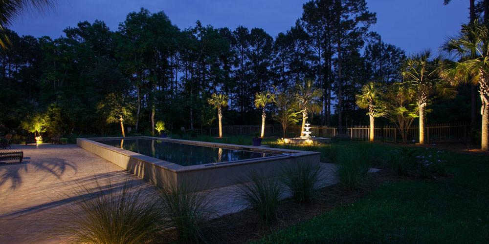 Landscape lighting for your outdoor living areas will amaze you. It's  astonishing how much more use you will get out of your deck, patio or pool  in the ... - Let Landscape Lighting Replace Holiday Lighting At Your Lexington SC
