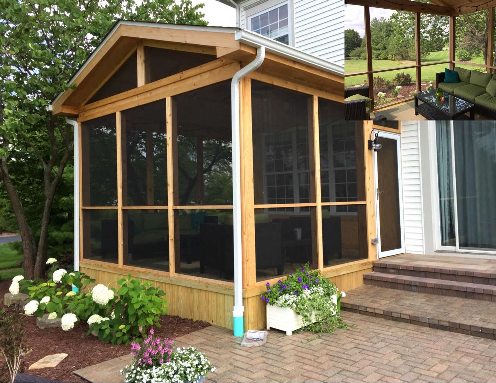 the advantages porch screened disadvantages home utrails screen of and designs design