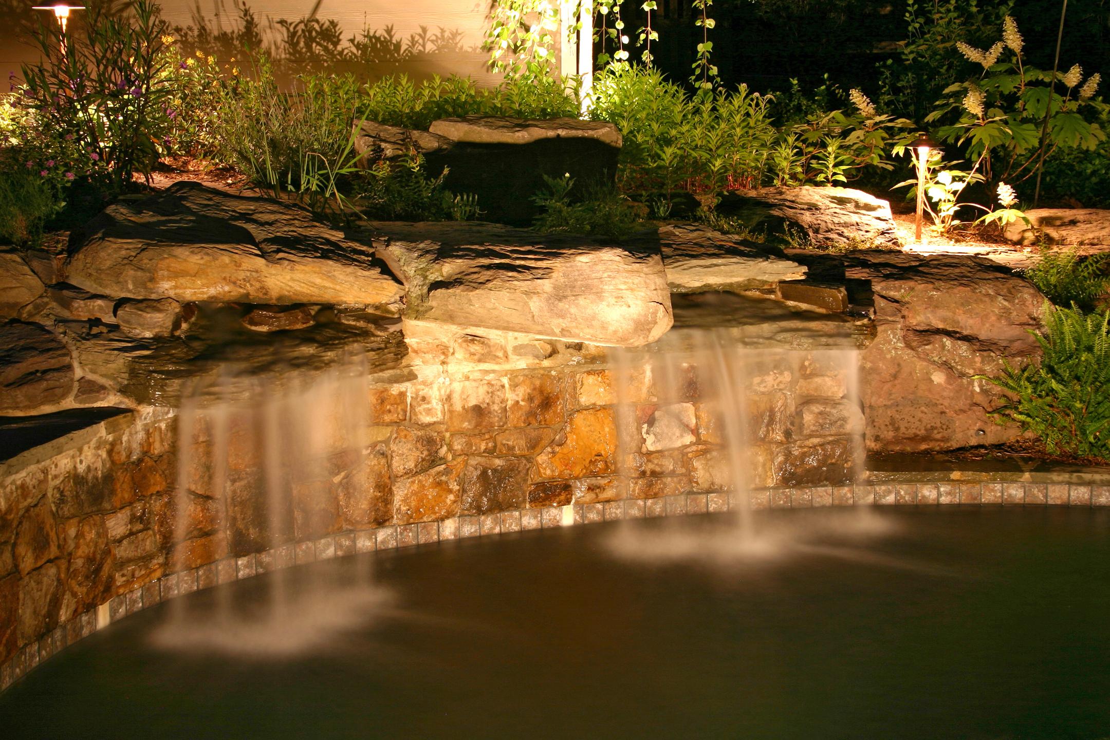 waterfall lighting company Charleston SC