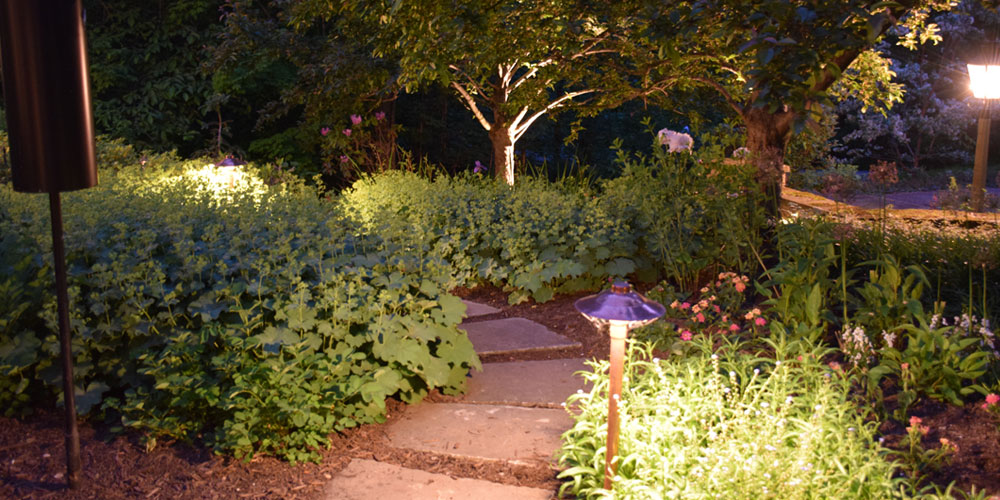 pathway lighting Chagrin Falls OH