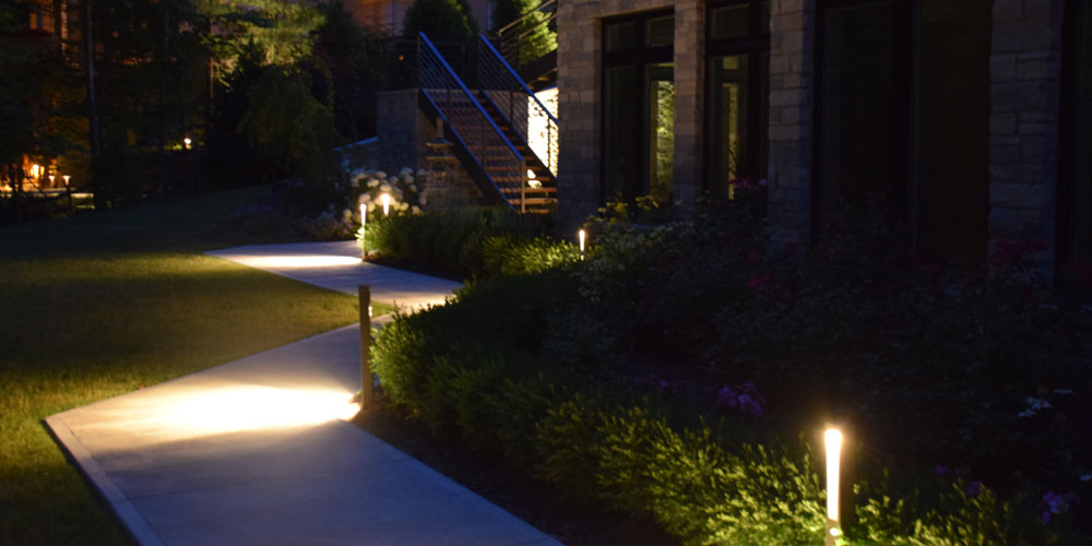 Chagrin Falls OH pathway lighting