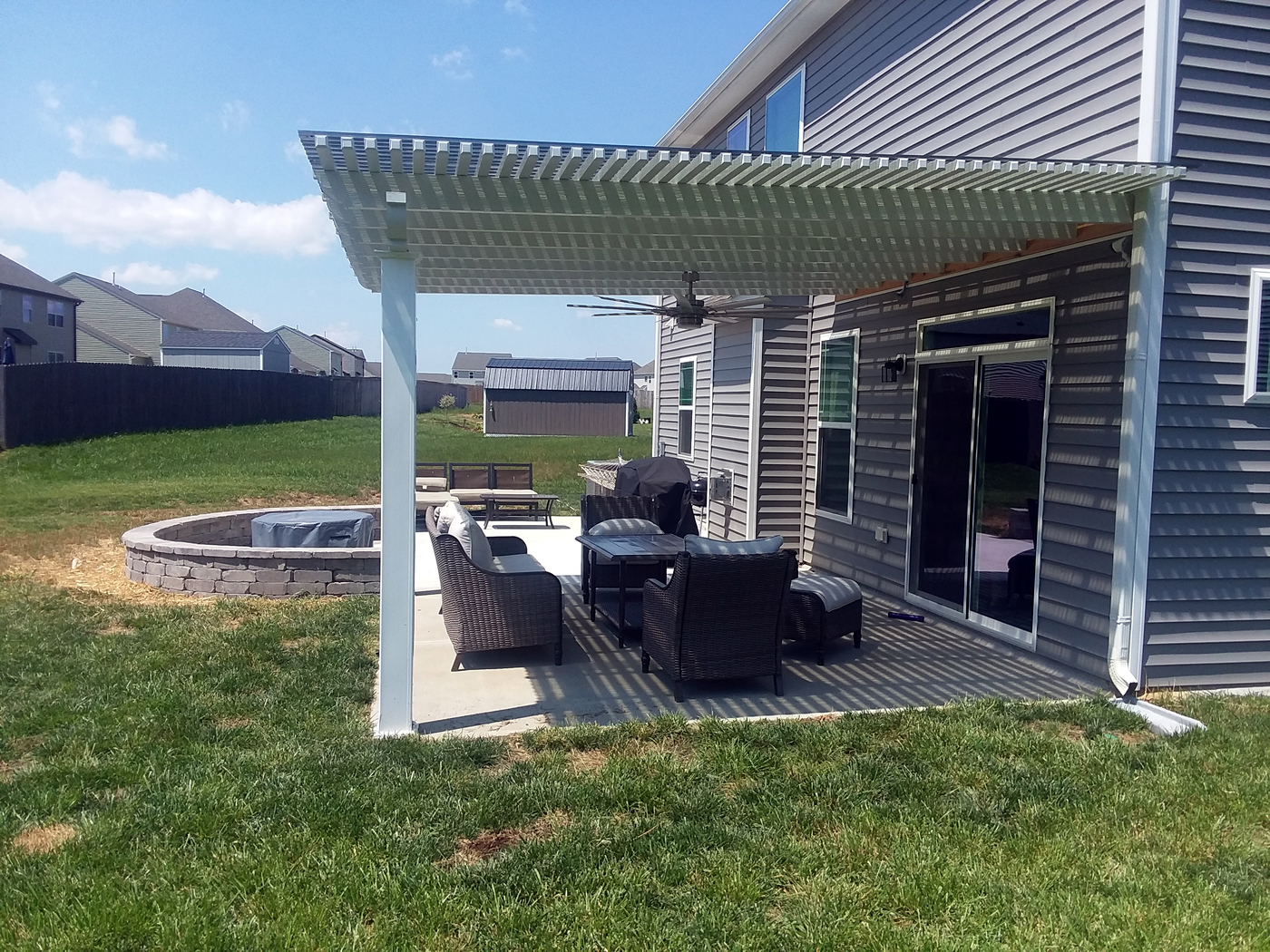 Whitsett NC shade pergola builder