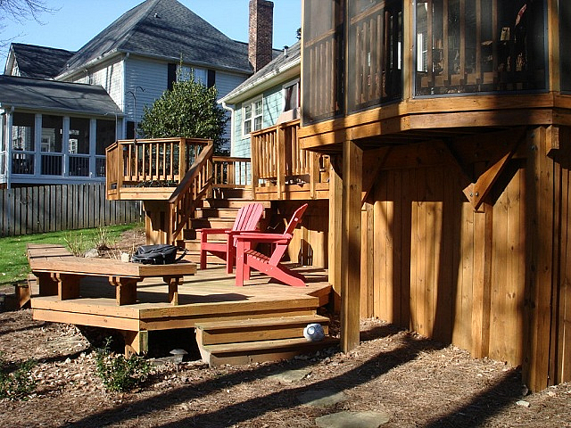 Jamestown porch and deck builder