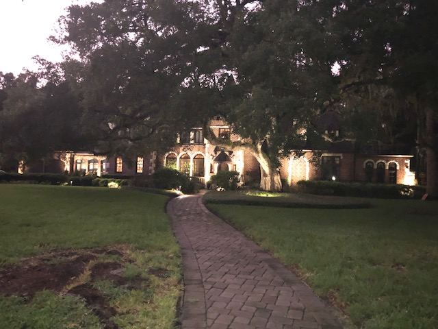 Elegant-outdoor-lighting-installation-in-Tampa's-Sunset-Park-by-Outdoor-Lighting-Perspectives-of-Clearwater-and-Tampa-Bay