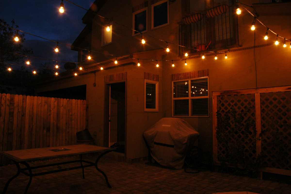 Denver courtyard fiesta lighting. Imagine the ambiance that our professional fiesta lighting could add to your special event venue or residential area. Our fiesta lights are professionally installed to weather storms and seasons.