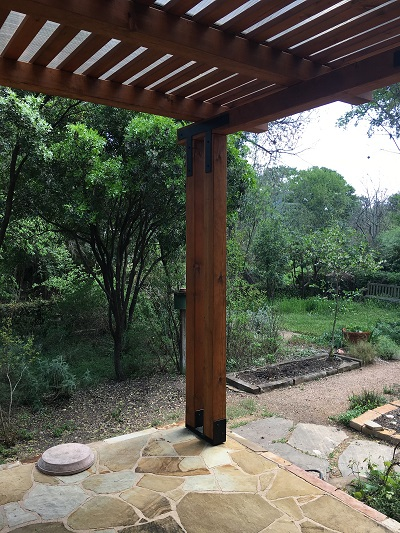 Downtown Austin Tx Homeowners Get The Pergola Of Their