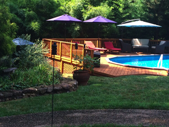 Greensboro pool hot tub deck by Archadeck of the Piedmont Triad Thumbnail