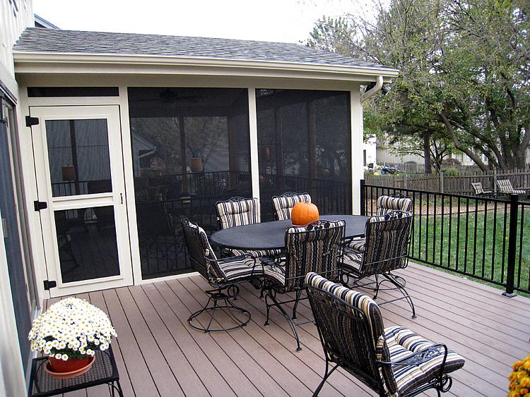 Lenexa deck and porch