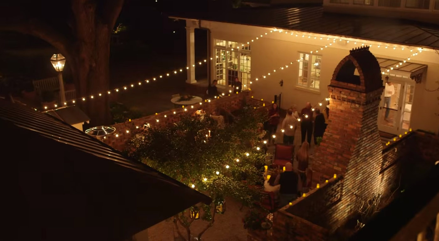 Festive String Lighting & Louisville Deck Lighting