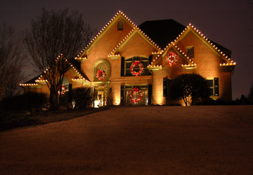 & Charleston SC Holiday Outdoor Lighting