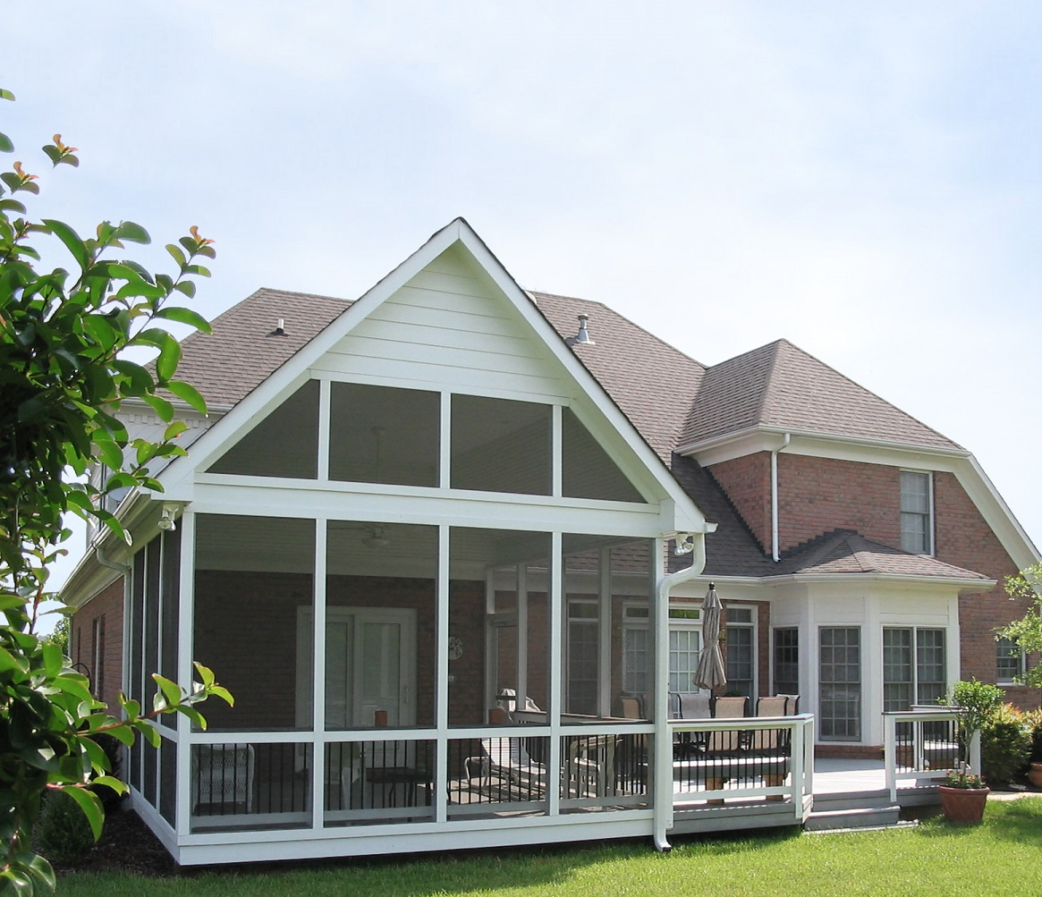 Akron OH Deck and Covered Porch Combinations --The Best of Both Worlds Thumbnail