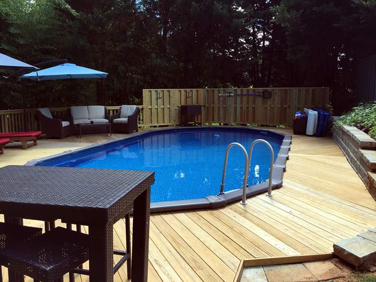 Greensboro pool deck
