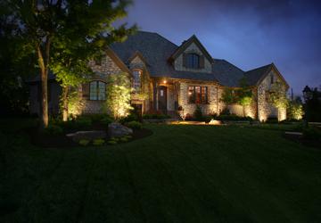 home exterior lighting Raleigh NC