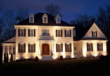 exterior home lighting Raleigh NC