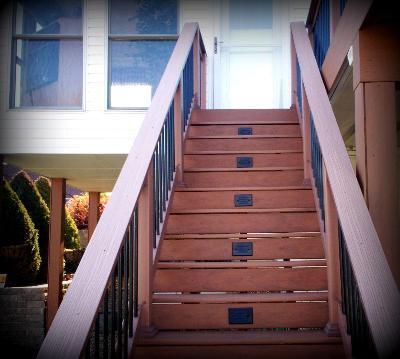 Deck Step Riser Lighting, Greater St. Louis Area