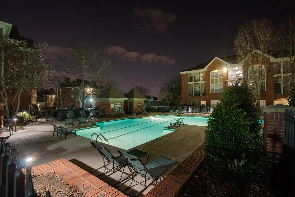 ingenious landscape lighting around pool. Why Nashville Outdoor Lighting  Blog Perspectives
