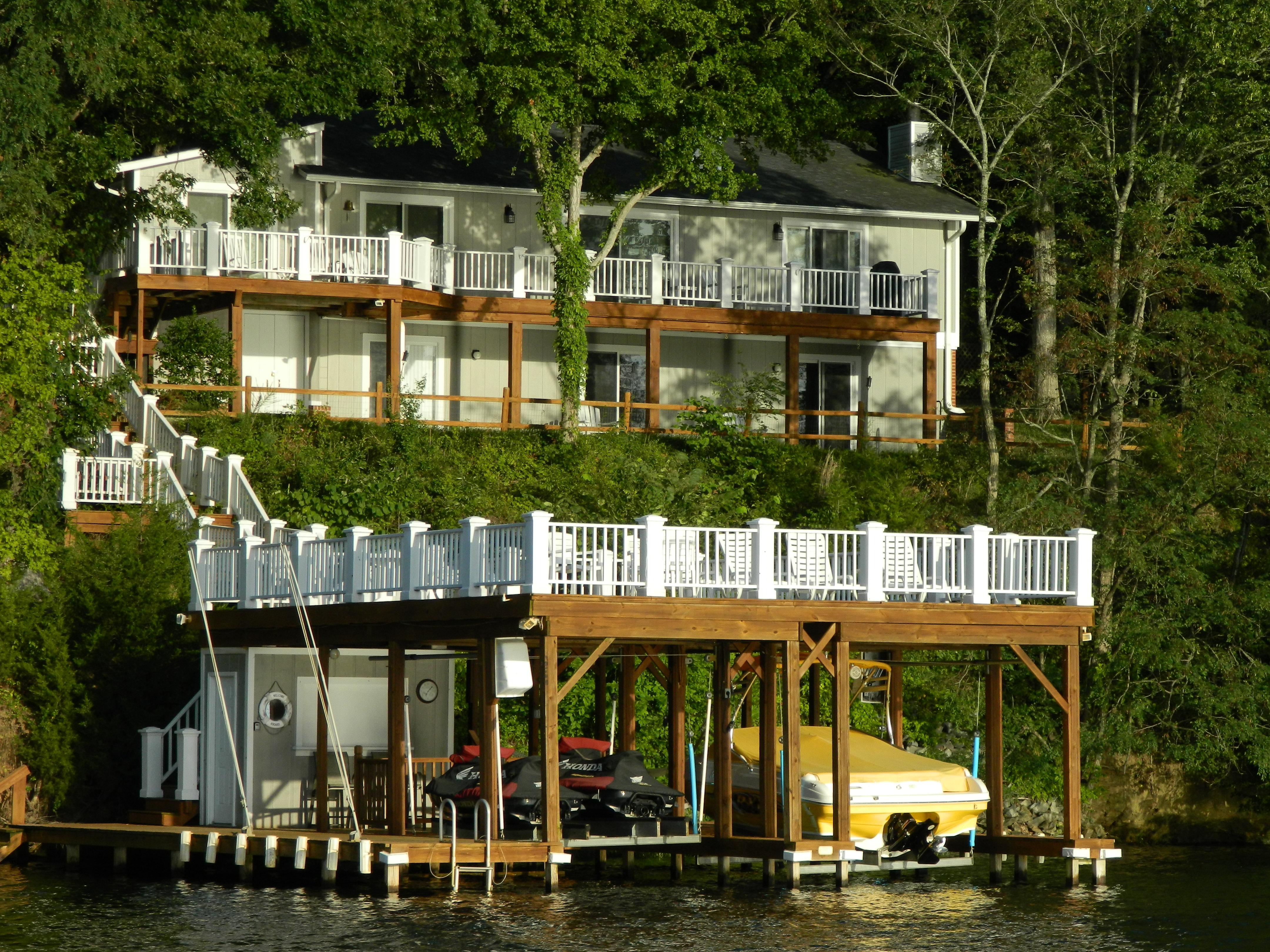 Decks Amp Docks Renew Crew Of Lake Gaston Kerr Lake And