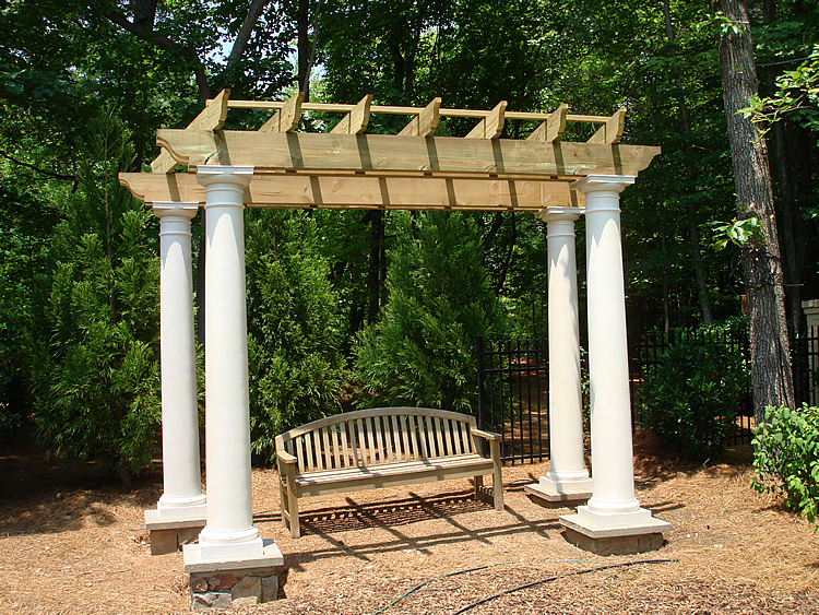 pergola for partial shade