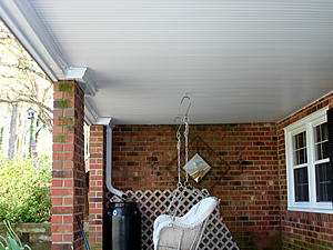 under deck porch