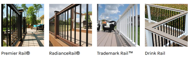 TimberTech Classic Composite railings
