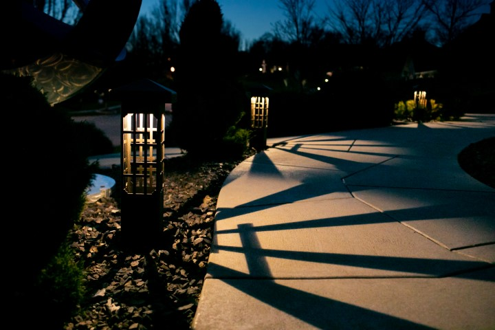 Neighborhood Entry Lighting