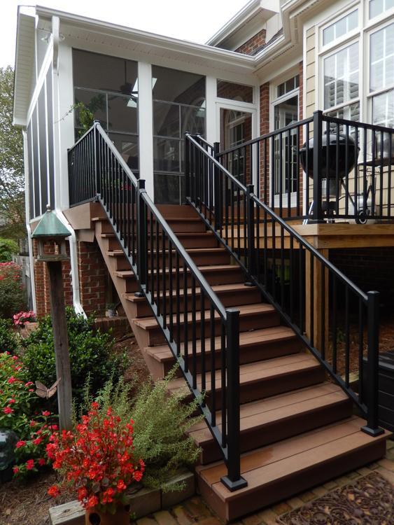 Greensboro deck and porch