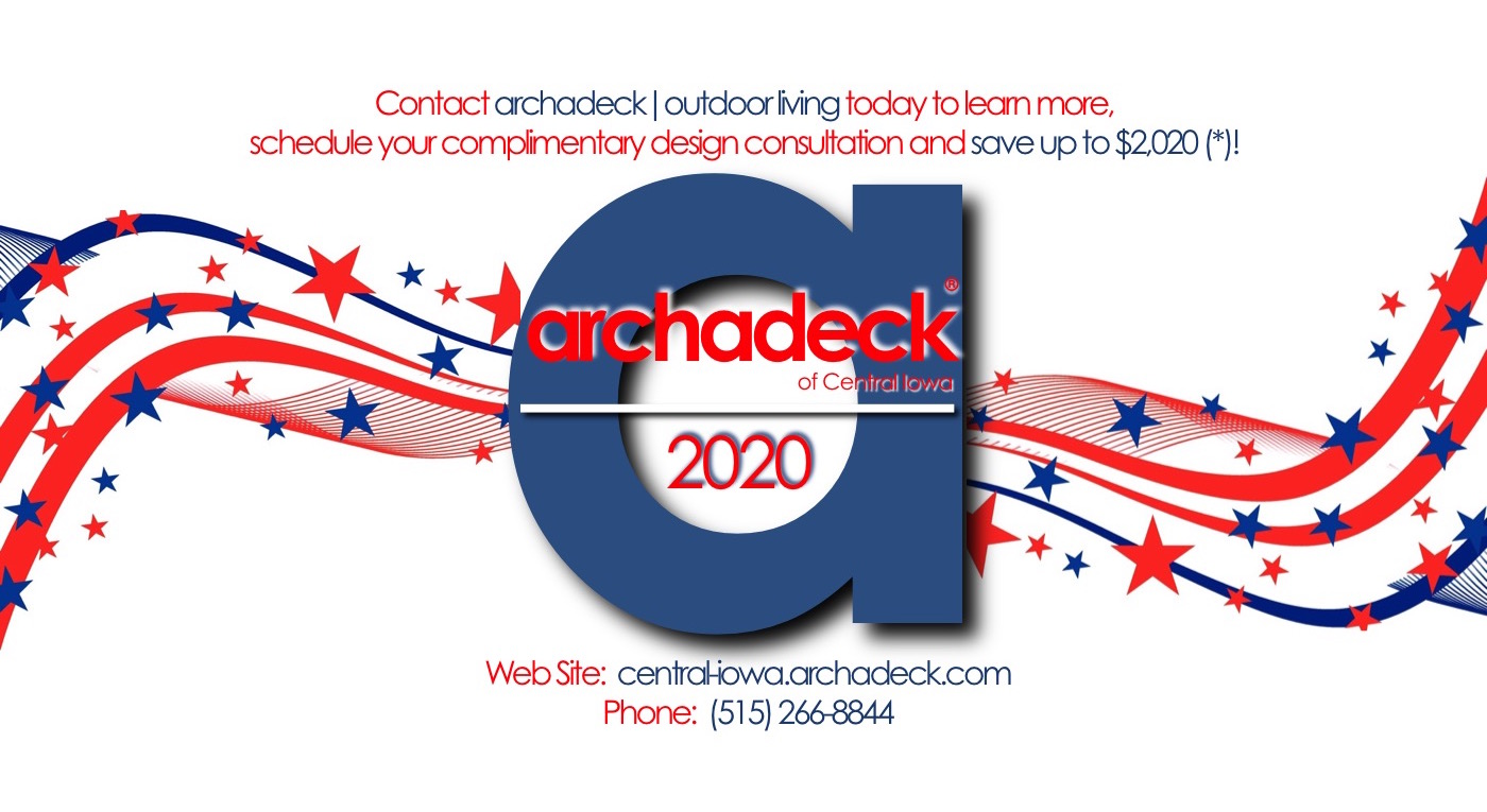 Archadeck 2020 - Campaign to Improve Central Iowa Decks, Porches and Patios  Thumbnail