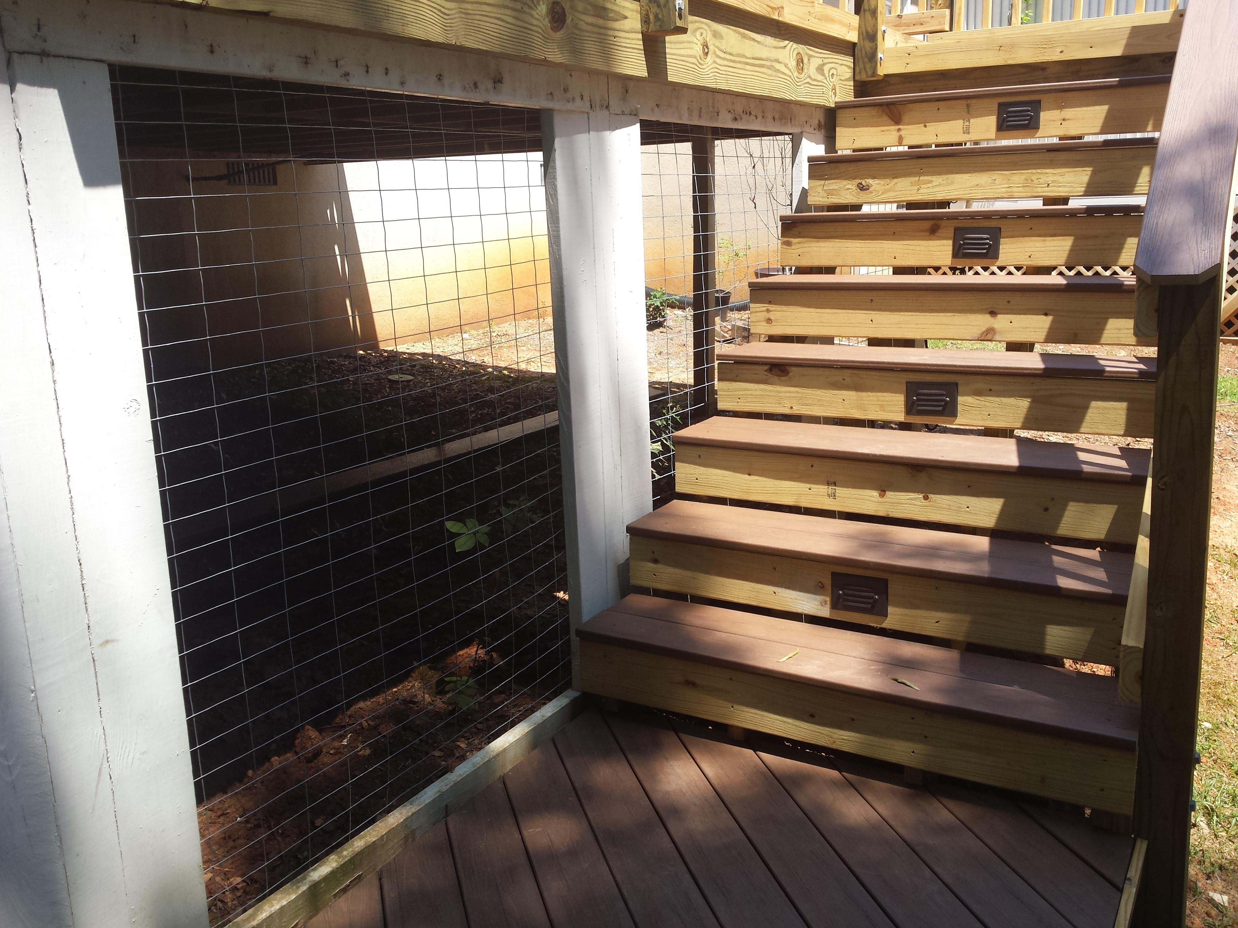 Blog Archadeck Outdoor Living Lighting Diy Deck Plans Low Voltage Wiring Taking The Design A Step Further Of Central Georgia Also Removed All Existing Lattice Skirting That Existed From Decks Original
