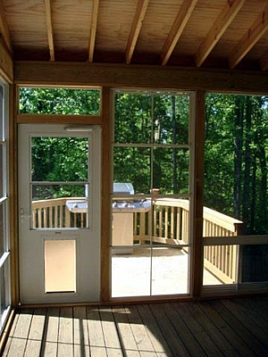 Glen Ridge screened porch builder
