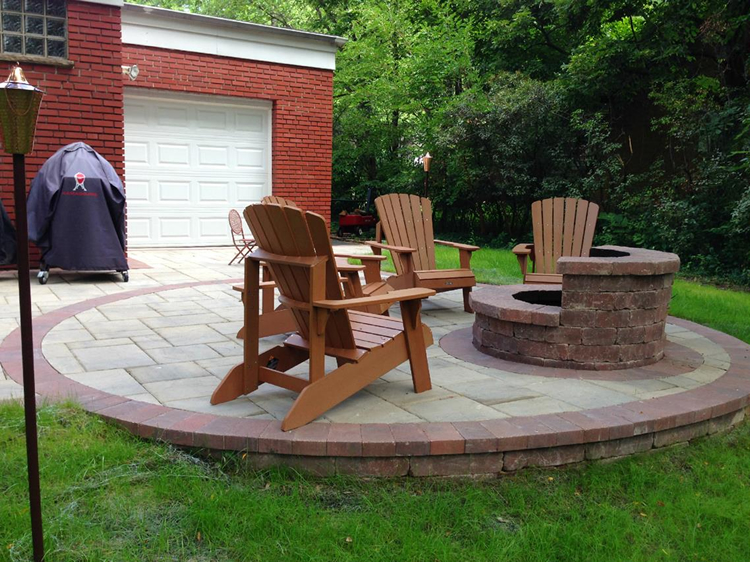 build your patio in the fall