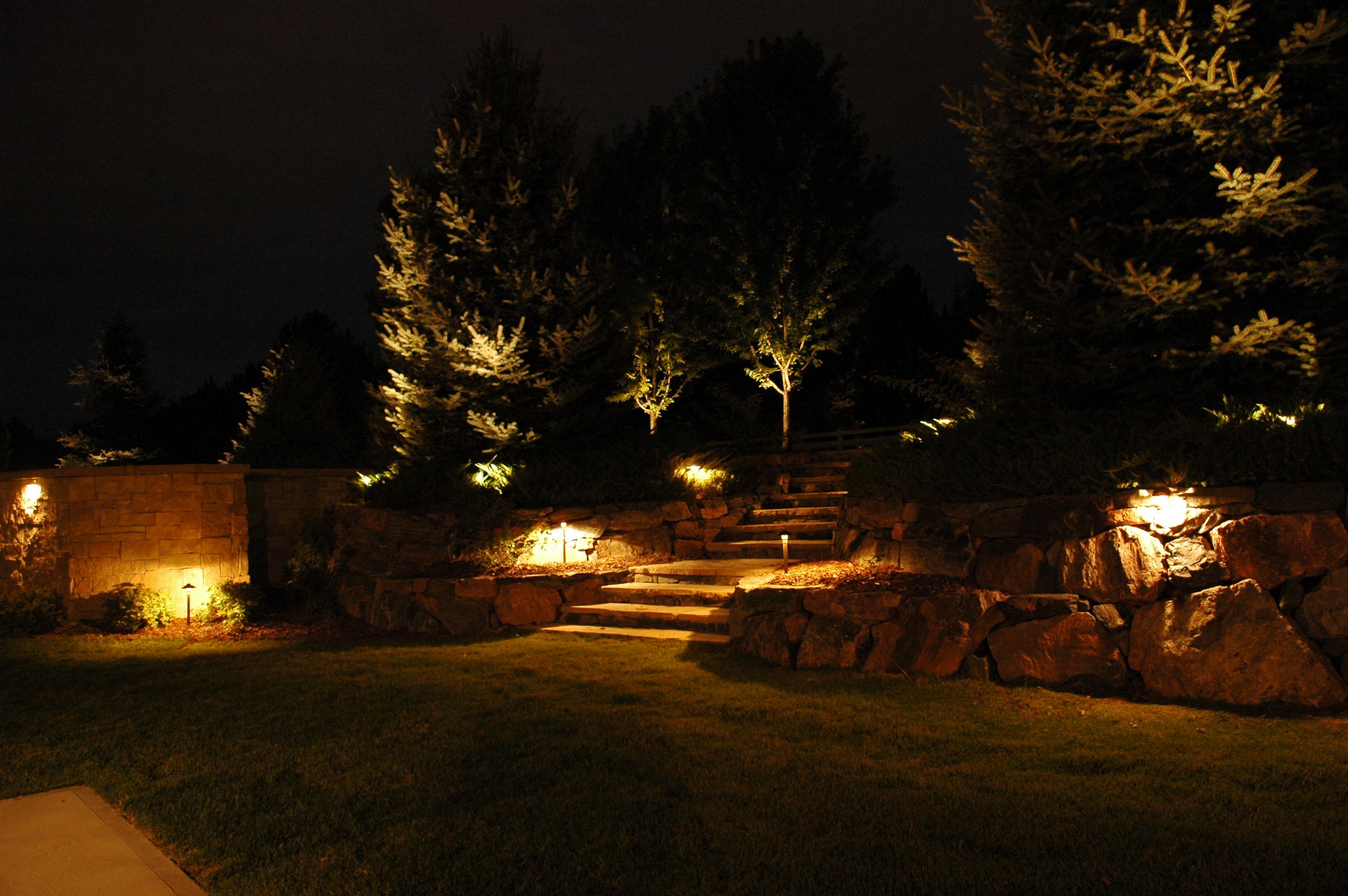 Denver landscape lighting outdoor lighting perspectives for Landscape lighting packages